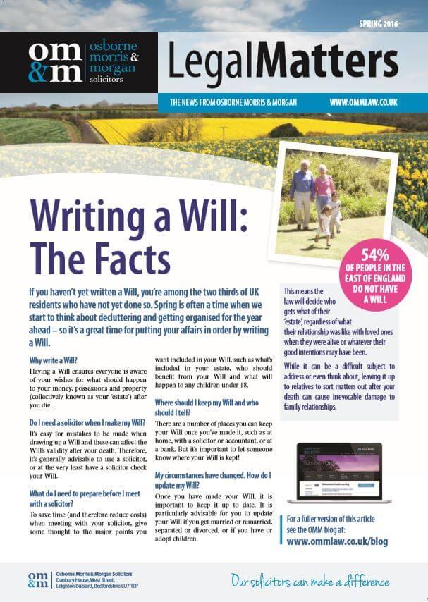 newsletter spring