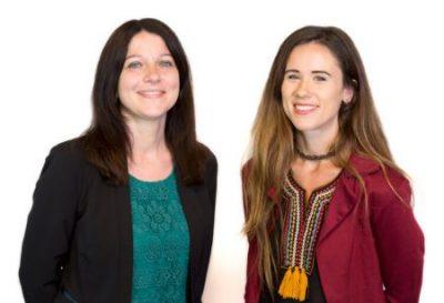 Wills Team Sarah & Lizzie